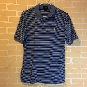 Polo by Ralph Lauren xl (18-20) Blue Striped